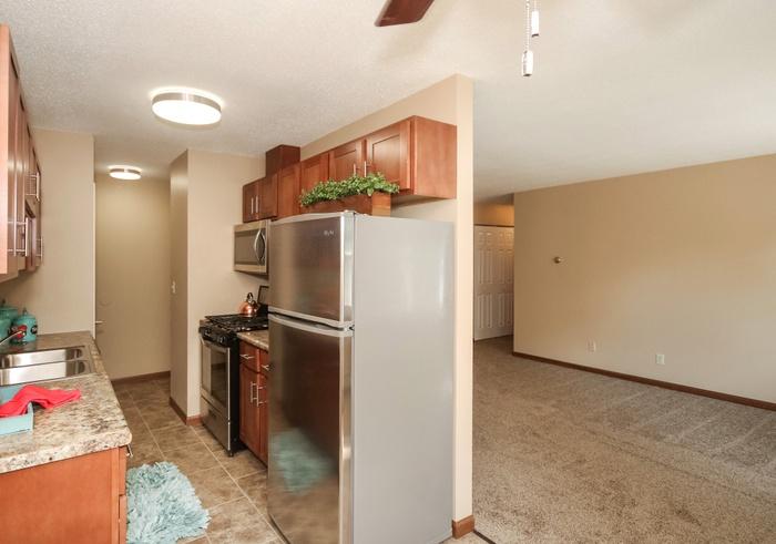 VAES- Remodeled Kitchen & Living Room
