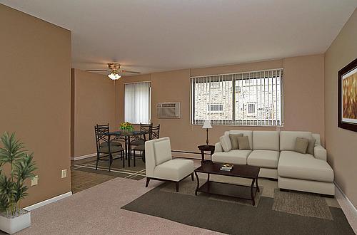 VTER- Living Room- Staged